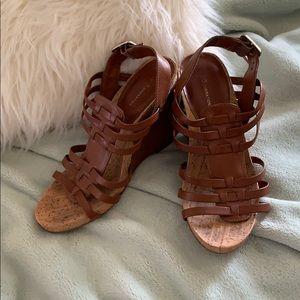 BCBGENERATION wedge heel sandals